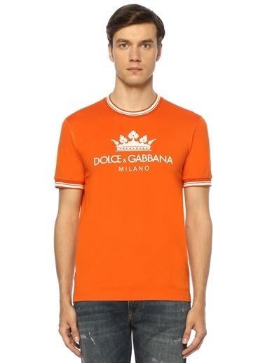 Dolce&Gabbana Tişört Oranj